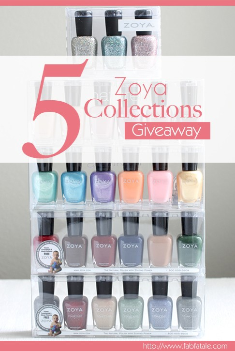 I just entered to win a massive 5 collection Zoya nail polish giveaway at http://www.fabfatale.com/2014/04/ive-moved-giveaway-part-2-zoya/