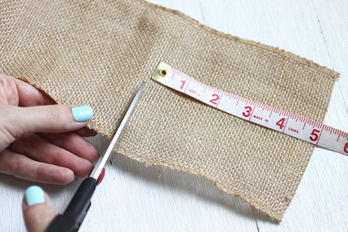 polka dot burlap coasters diy