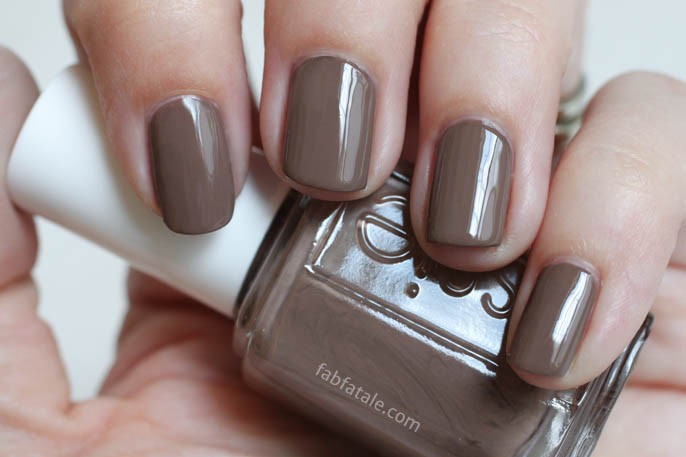 Essie Summer 2014 Swatches - Fierce, No Fear Brown Cream