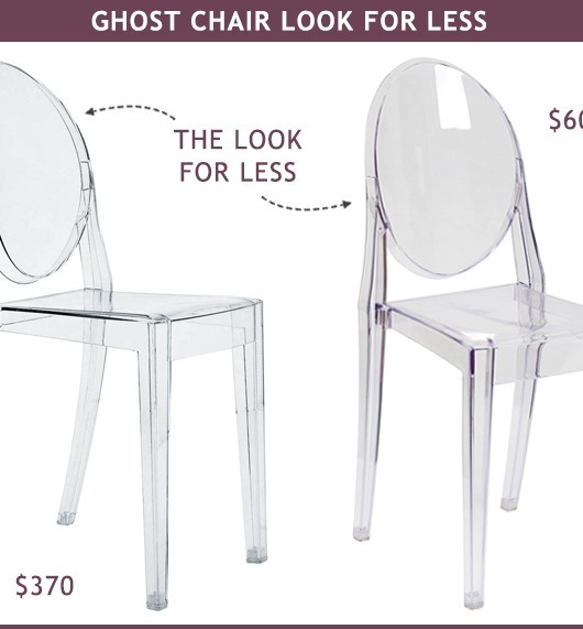 Ghost Chair Clear Desk Dining Look For Less