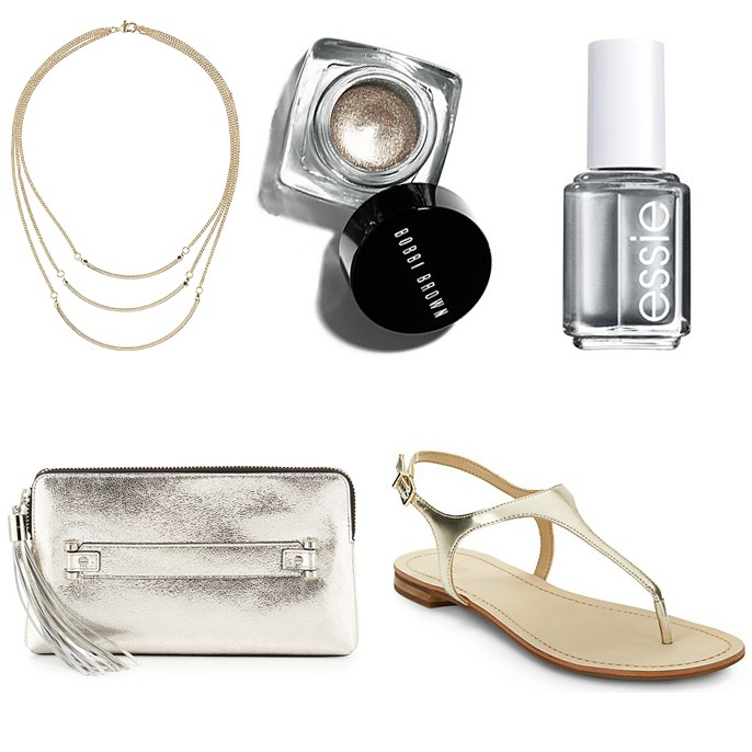 celebrating summer metallics today in Friday's Fab Five http://www.fabfatale.com/2014/06/fridays-fab-five-summer-metallics/ #summertrends #summer2014trends