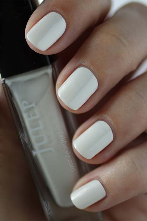 Summer Manicure - White Nails