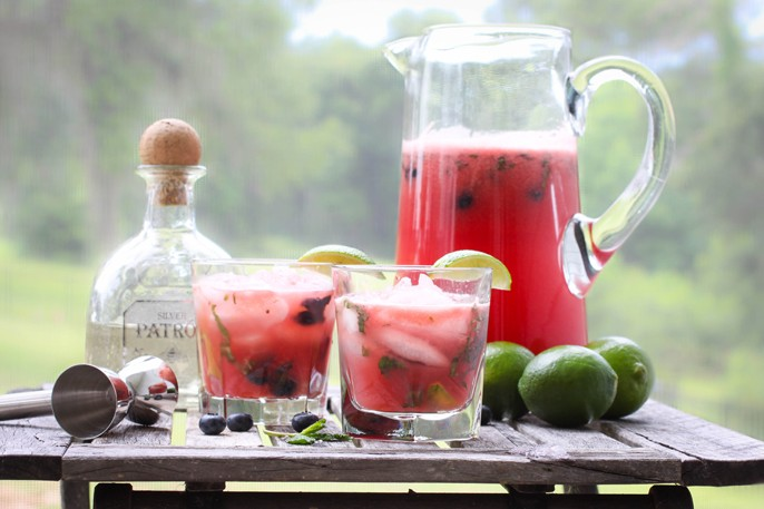 Watermelon- Tequila Cocktail Recipes — Dishmaps