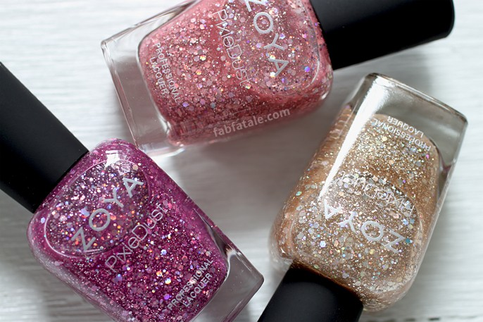 Zoya Magical PixieDust Summer 2014 - Swatches and Giveaway