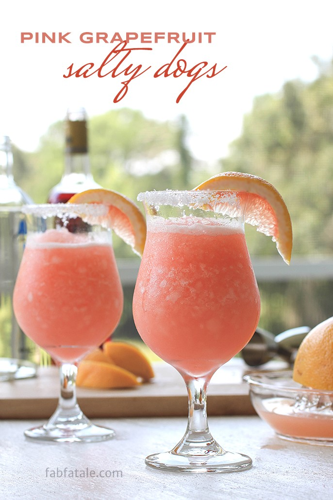 Boozey Tuesdays – Pink Salty Dog