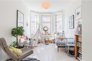 Boy Kids Room Tee Pee
