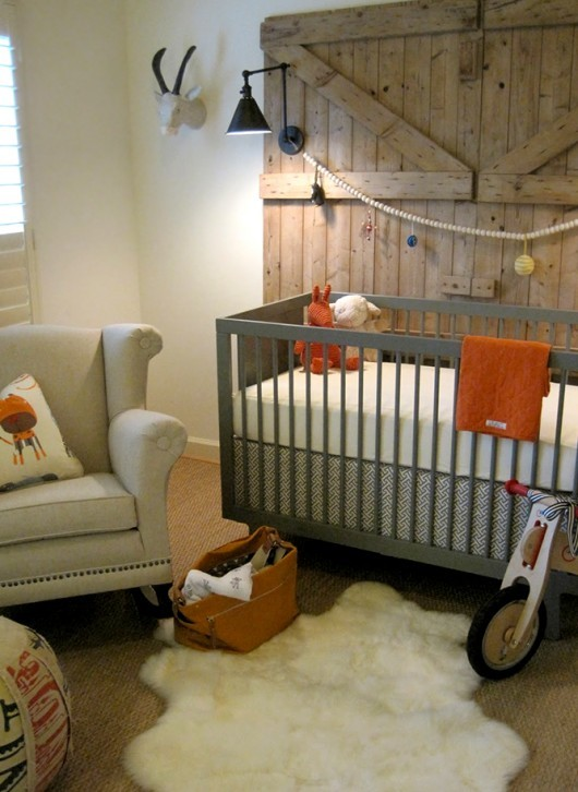 Gender Neutral Nursery Tree Boy Kids Room
