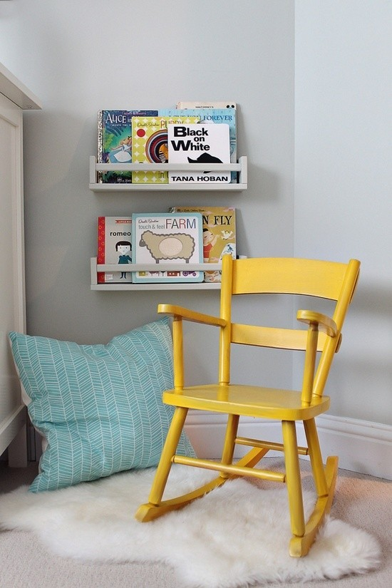 Kids Reading Corner Rocking Chair