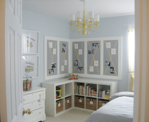 Kids Room Reading Storage Corner