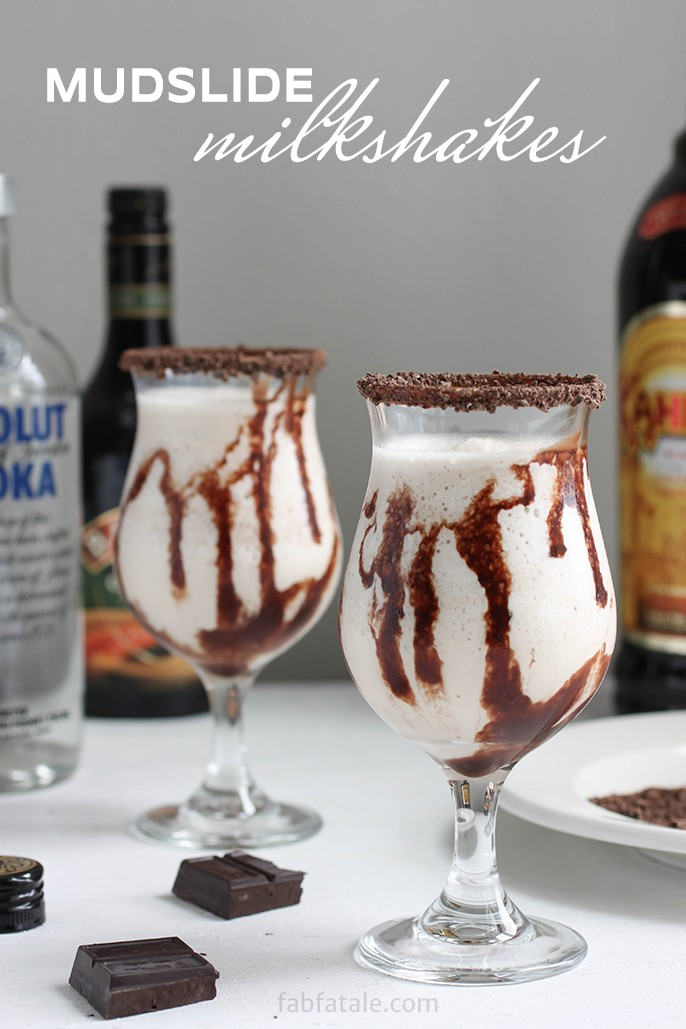 Mudslide Milkshake - Summer Cocktail Recipe