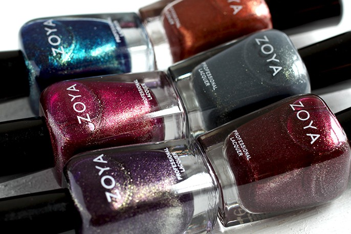 Zoya Ignite Shimmer Nail Polish Swatches