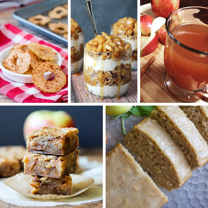 Apple Recipes Baked Rings Caramel Trifle Cider Blondies Glazed Cinnamon Oatmeal Bread
