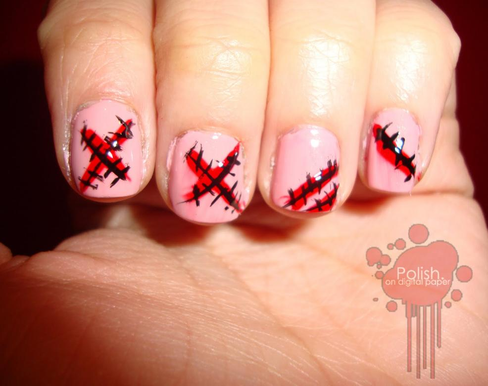 8 Last Minute Halloween Nail Art Ideas - Fab Fatale