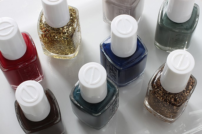 Essie Fall 2014 Swatches - Dress To Kilt