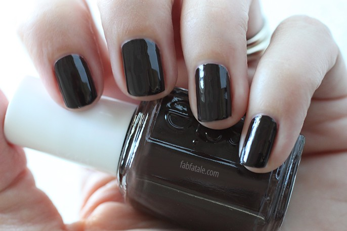 Essie Fall 2014 Swatches Partner In Crime Dark Brown Cream Nail Polish