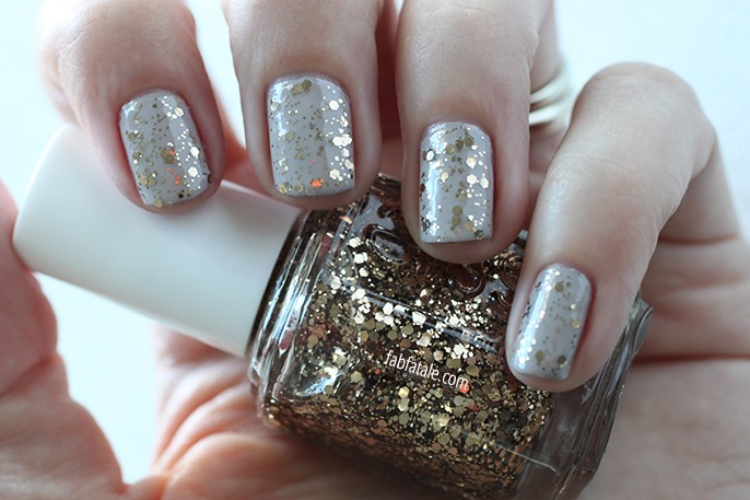 Essie Fall 2014 Swatches Summit Of Style Bronze Glitter Nail Polish