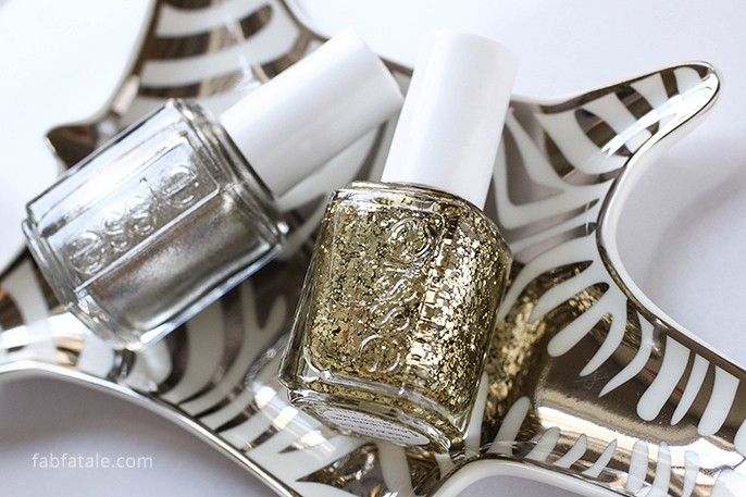 Essie Rock At The Top Jiggle Hi Jiggle Low Cut Out Negative Space Holiday Christmas Manicure Nail Art