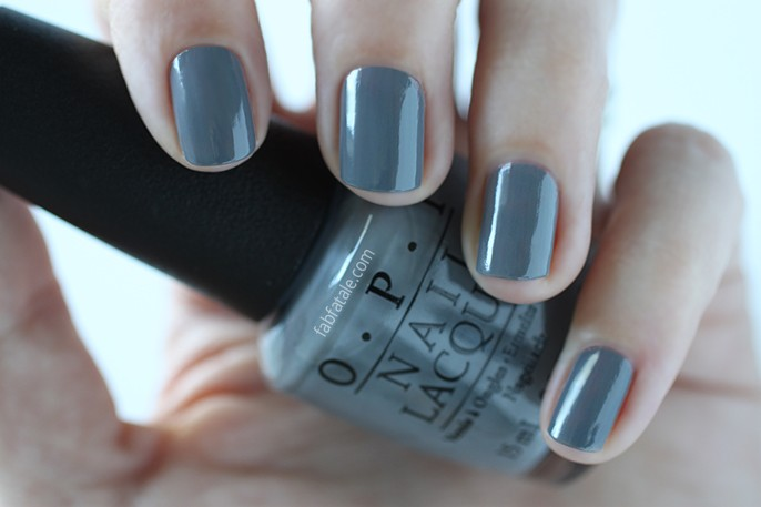 OPI Fifty Shades Of Grey Embrace The Gray Swatch