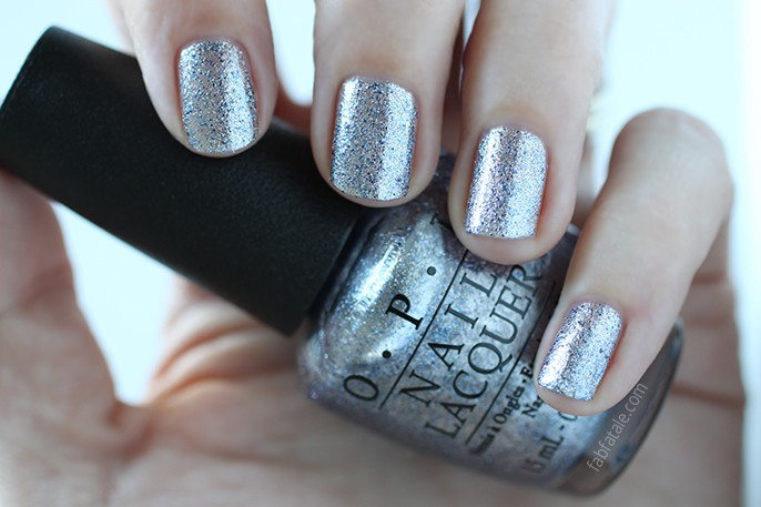 OPI Fifty Shades Of Grey Shine For Me Swatch