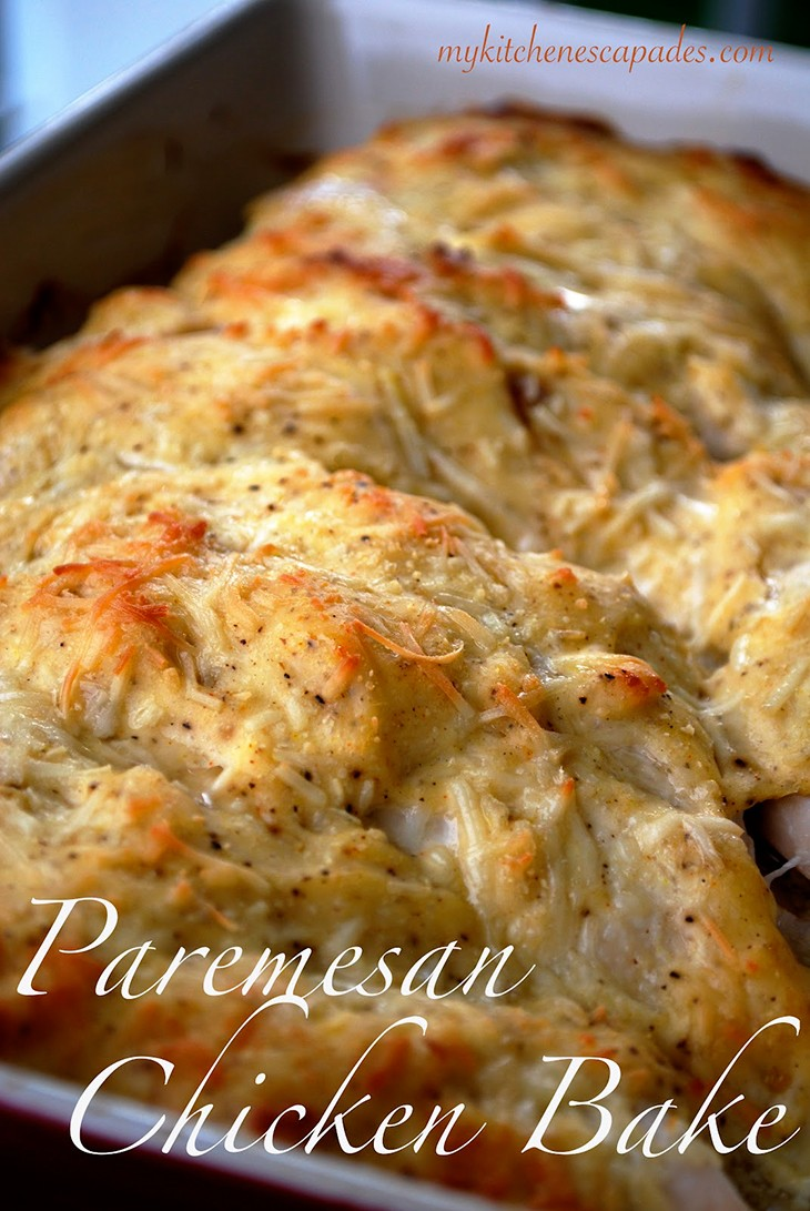 Baked Parmesan Chicken Recipe