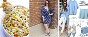 Casserole Recipes Blue White Dress Spring Fashion Trends Light Blue