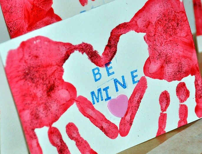 toddler valentines day cards crafts diy