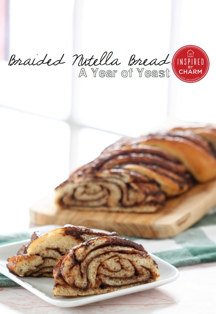 my top 5 fav nutella recipes, featuring nutella swirl bread