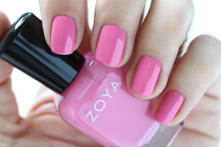 Zoya Spring 2015 Swatches Delight Eden Pink Cream Nail Polish