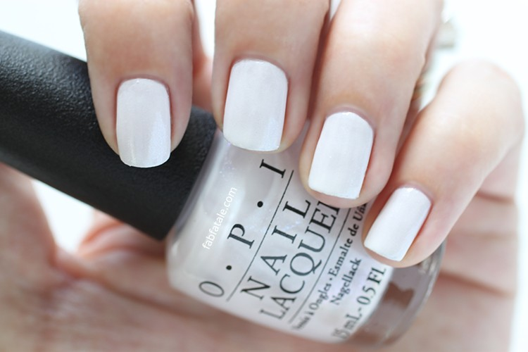 White Nail Polish Colors Opi