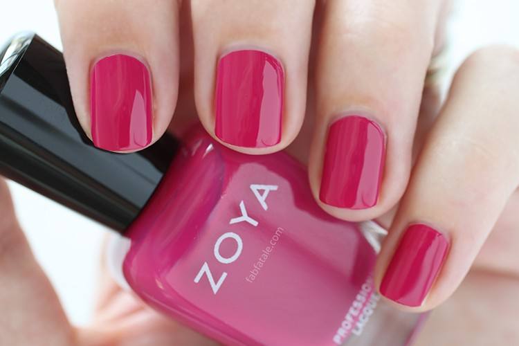 Zoya Island Fun Summer 2015 Swatch Nana Pink Cream