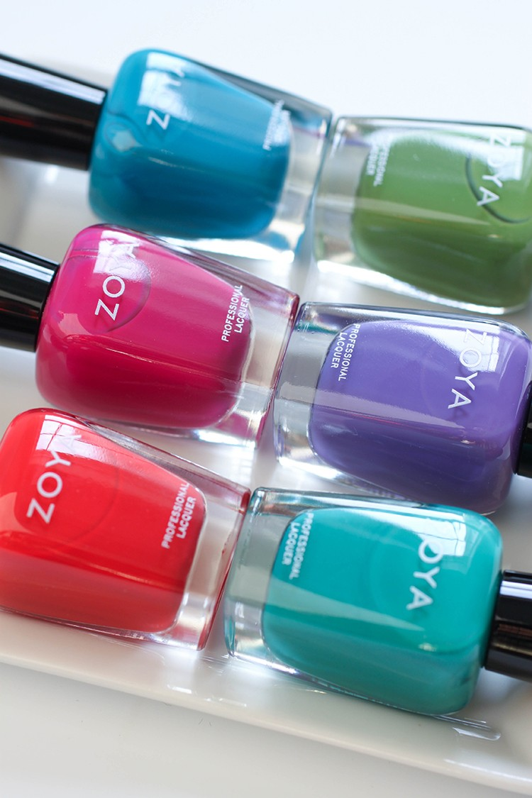 Zoya Island Fun Collection Giveaway
