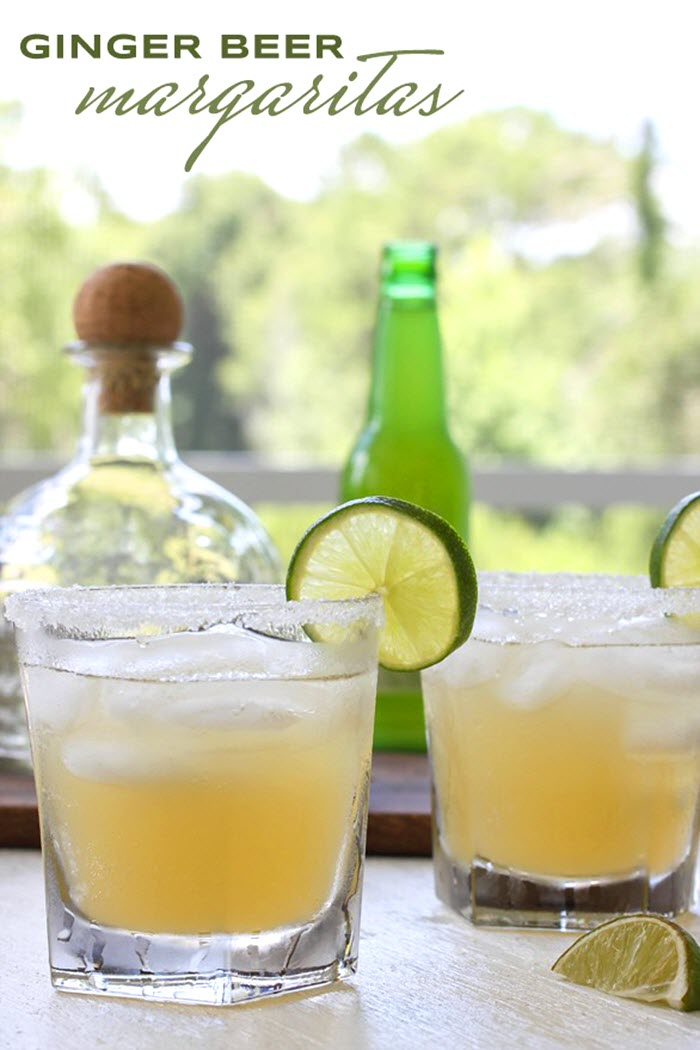 5 Festive Cinco de Mayo Cocktails - Ginger Beer Margarita