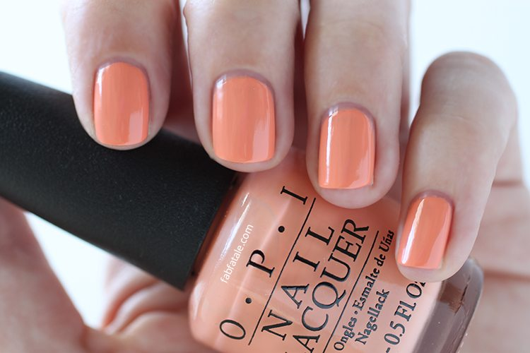 OPI New Orleans Crawfishin' For A Compliment Peach Cream Nail Polish