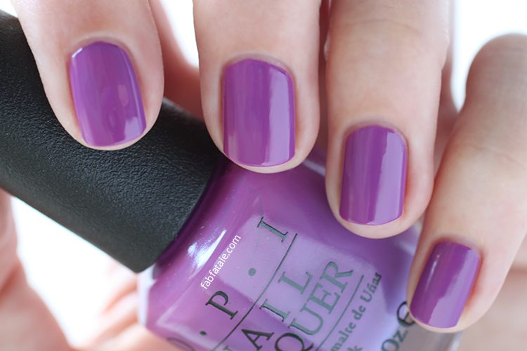 OPI New Orleans I Manicure For Beads Purple Cream Nail Polish