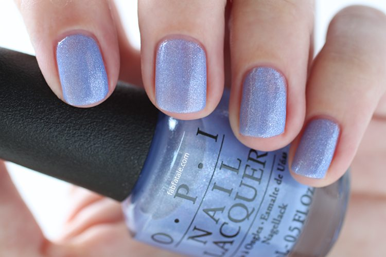 OPI New Orleans Show Us Your Tips! Purple Shimmer Glitter Nail Polish