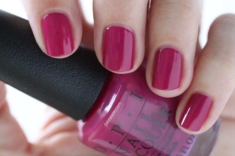 OPI New Orleans Spare Me A French Quarter? Raspberry Cream Nail Polish
