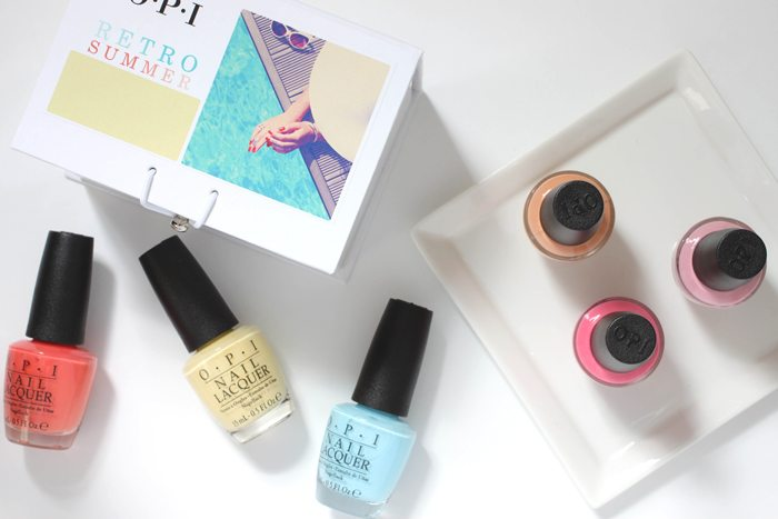 OPI Retro Summer Collection Nail Collection Nail Polish