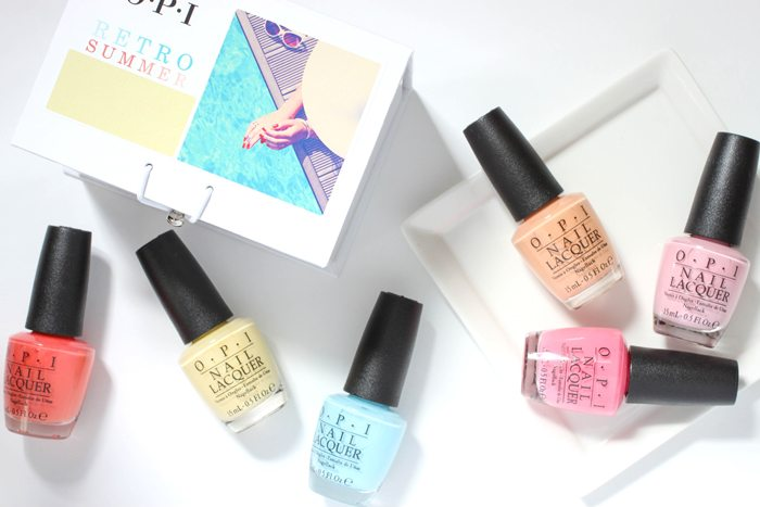 OPI Retro Summer Collection Nail Polish Swatches