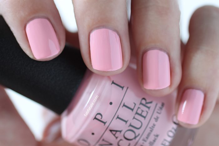 OPI Retro Summer Collection Nail Whats The Double Scoop Light Pink Cream Nail Polish