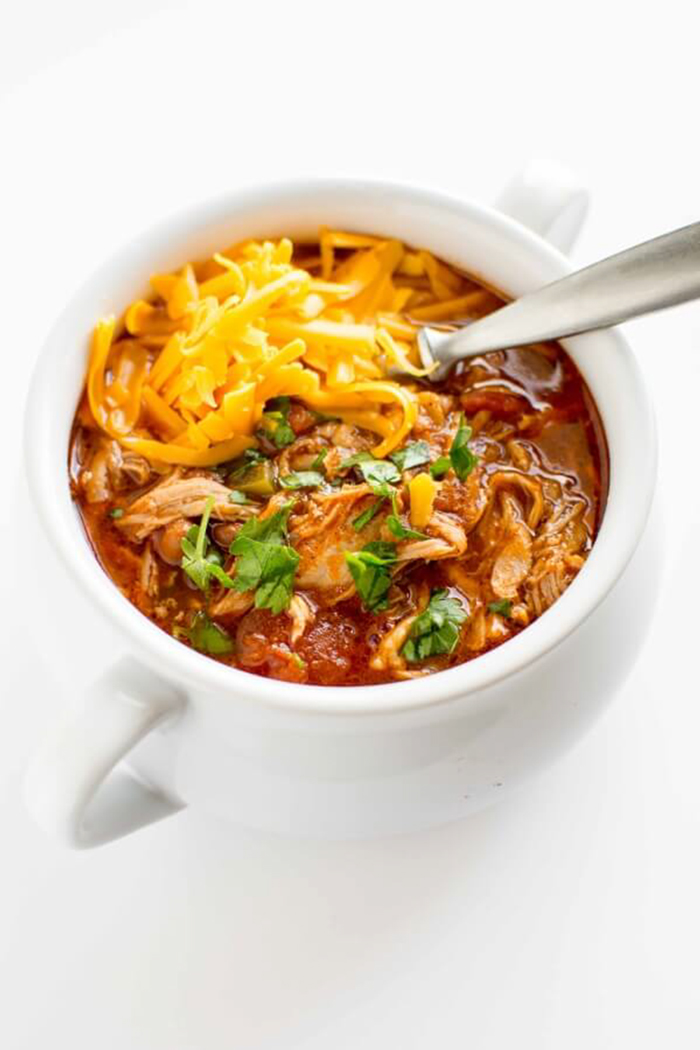 summer slow cooker recipes - slow cooker pulled pork chili recipe