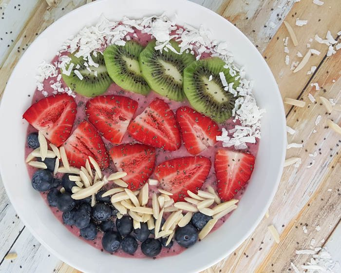 Super Charged Smoothie Bowl