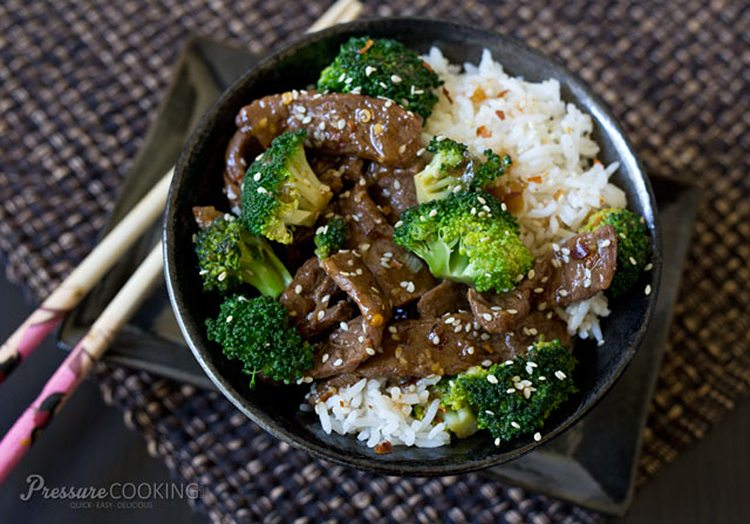 how to make instant pot yogurt, and my favorite instant pot recipes for easy weeknight dinners and meal prep - instant pot beef and broccoli Chinese recipe